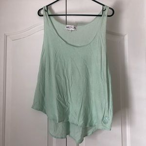 Wildfox Teal Tank top